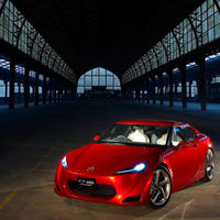 Toyota FT-86 prototype shoot