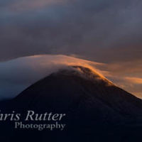 Sunset over Beinn na Caillich