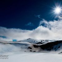 Viti crater snow