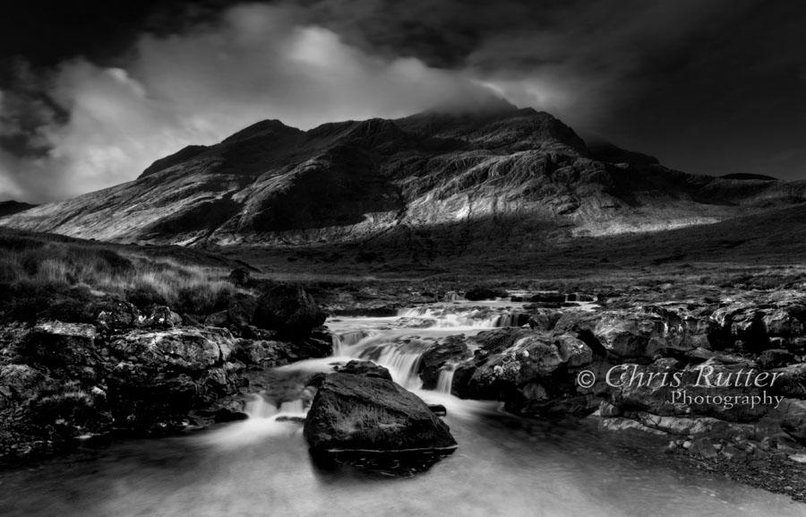 Waterfall, River Sligachan, Skye