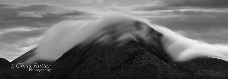 Clouds over Beinn na Caillich