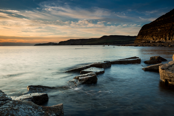 Kimmeridge ledges, Dorset