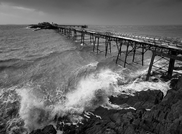 Derelict pier, Weston Super Mare