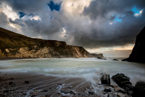 Man o' War Beach, Dorset