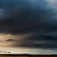 clouds mountains iceland 1