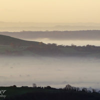 glastonbury tor mist