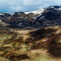 iceland mountains detail