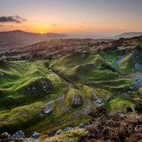 llangattock escarpment sunrise