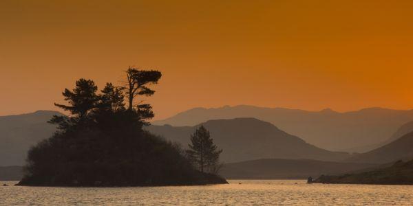 Llynnau Cregennen, sunrise