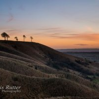 roundway hill sunset