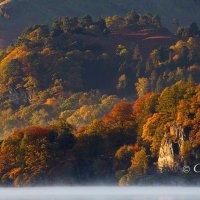 ullswater autumn mist