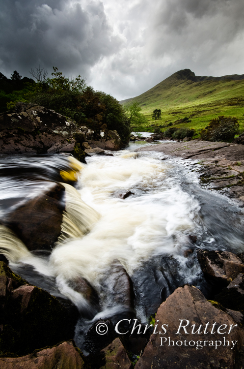 waterfall erriff river ireland