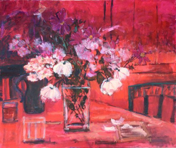 Large_flower_stilllife_reds-vibrant_white_blooms_interior_Matisse