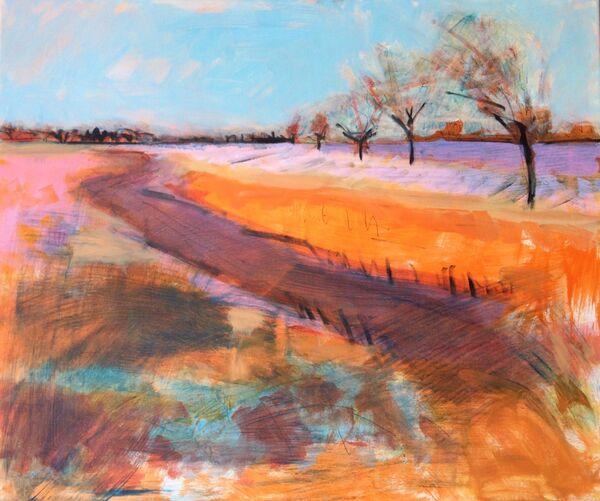Clear Light. acrylic on canvas. 61x51cms