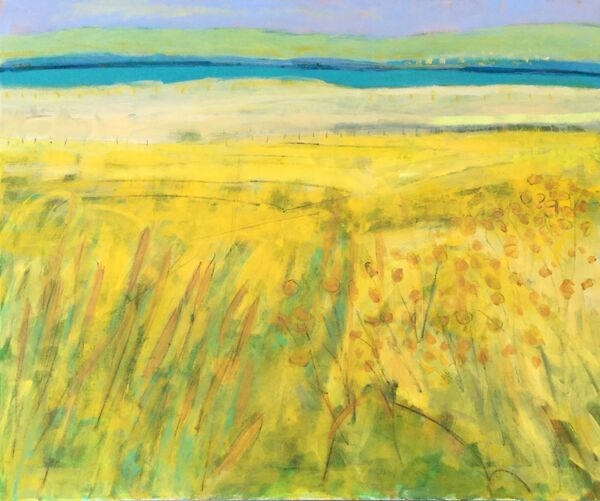 Colourful_modern_contemporary_landscape_Kerry-Ireland_yellows-turquoise_