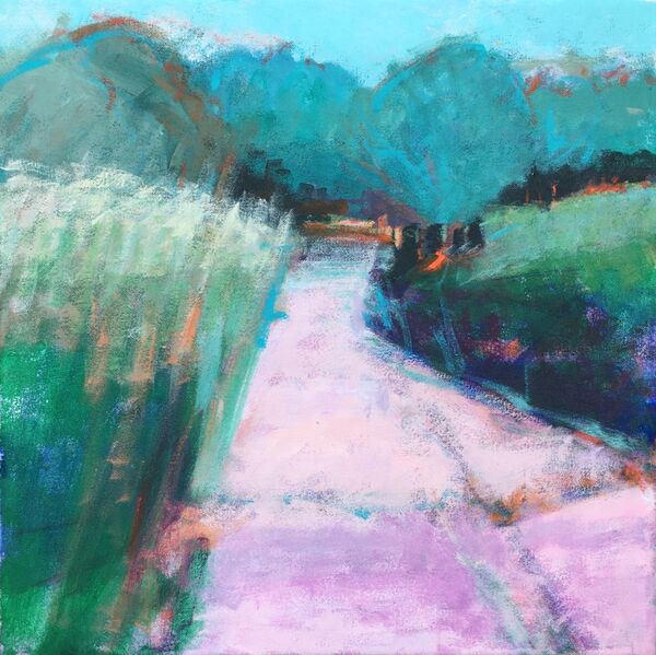 Track with Cow Parsley *SOLD*