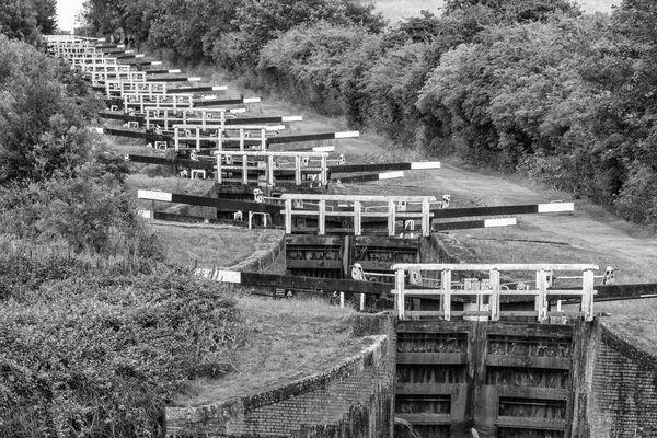 Cam Hill Locks, Devizes, Wiltshire