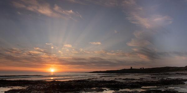 Sunrise at Embleton Beach, Northumberland