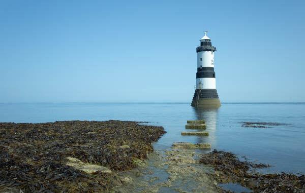 Trwyn Du (Black Point) Lighthouse.