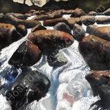 Cold Water over Granite
