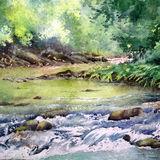 A Dartmoor river