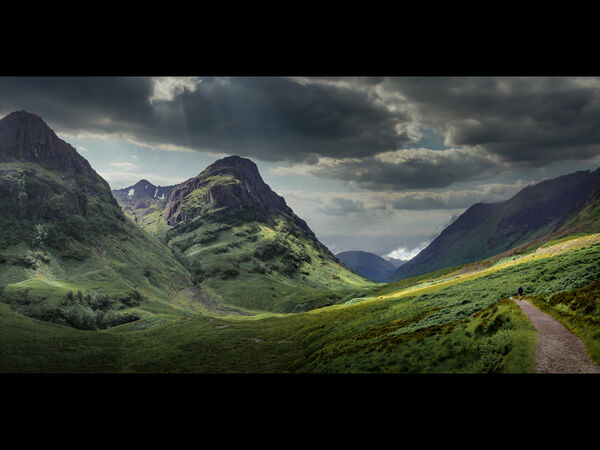 2nd Place PDI Between Storms At Glencoe by Steve Taylor