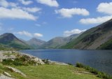 3rd Place Prints Wastwater towards Great Gable by Phil Green