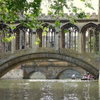 Bridge of Sighs Cambridge 3rd place in B section prints by Phillip Green