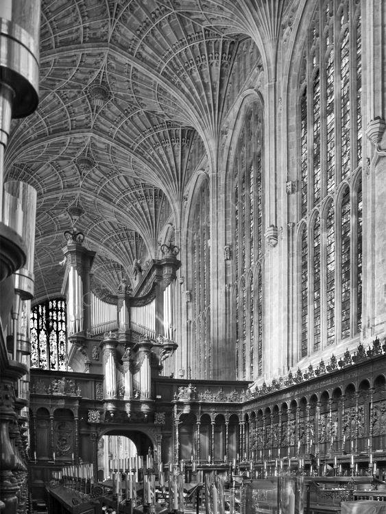Choir Stalls Kings College Cambridge