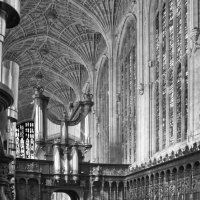 Choir Stalls Kings College Cambridge