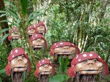 Heads on Tamburine mountain