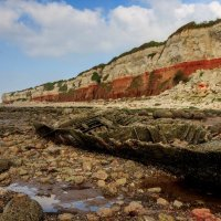Hunstanton Wreck; 2nd place in Digital section by Steve Taylor