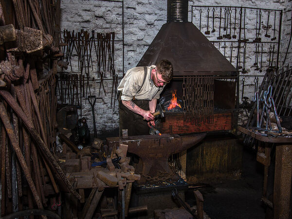 Joint 2nd Place PDI Blacksmiths Workshop by Keith Wright
