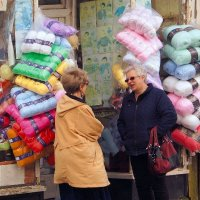 Knit and Natter; joint 2nd in B section prints; by Derek Gardener