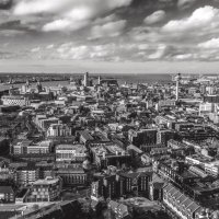 Liverpool View; 3rd in A section prints; by Mick Mccabe