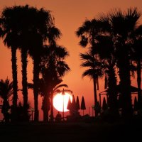 Sunset; 1st place in Digital section by Mike Winston