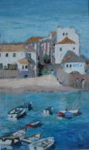 Small boats at St Ives I SOLD