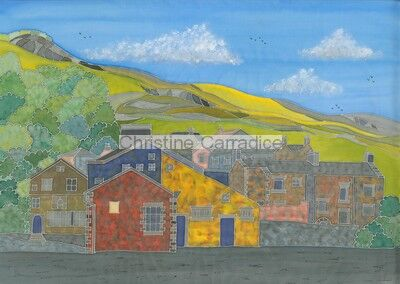 *NOW SOLD* Chapel Street and Castleberg Crag, Settle.