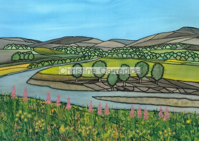 "*NOW SOLD* Ruskin's View, Kirkby Lonsdale. Picture size 11"" x 8"" (approx)."