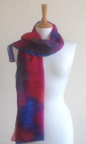 Poppy - Windsor red, fuchsia, royal blue, grey