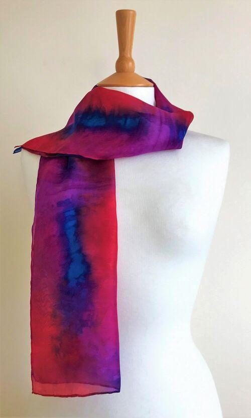 Anemone - Fuchsia pink, carmine red, purple, limoges blue
