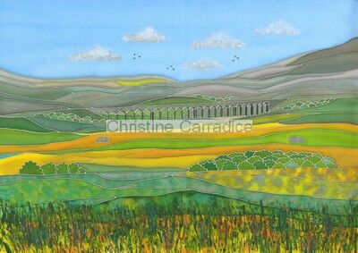 *NOW SOLD* Whernside and the Ribblehead Viaduct.