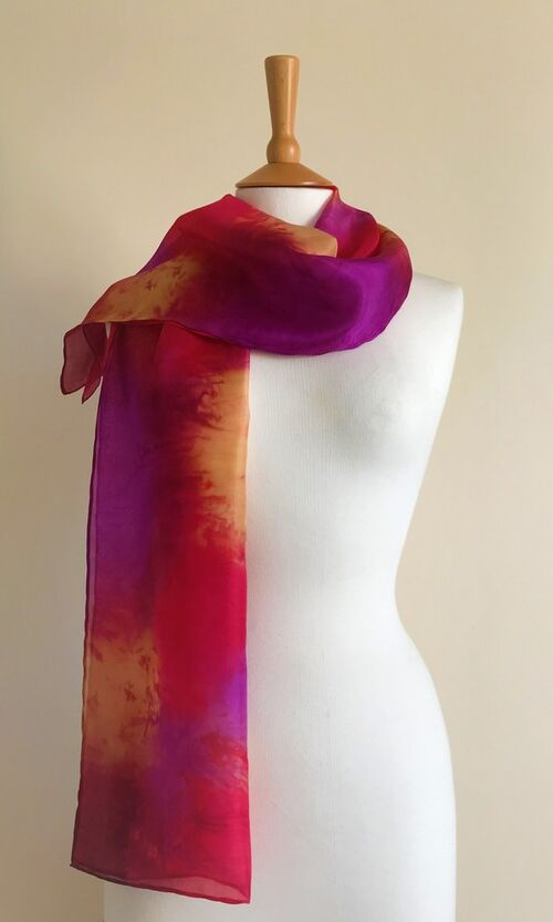 Sunset - Plum, red, purple, gold