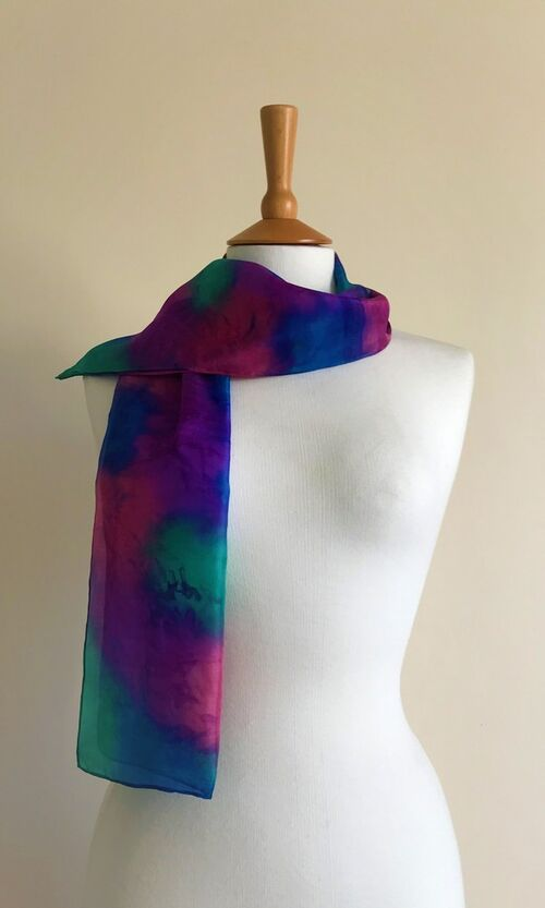 Seashore - Rose pink, purple, blue, green