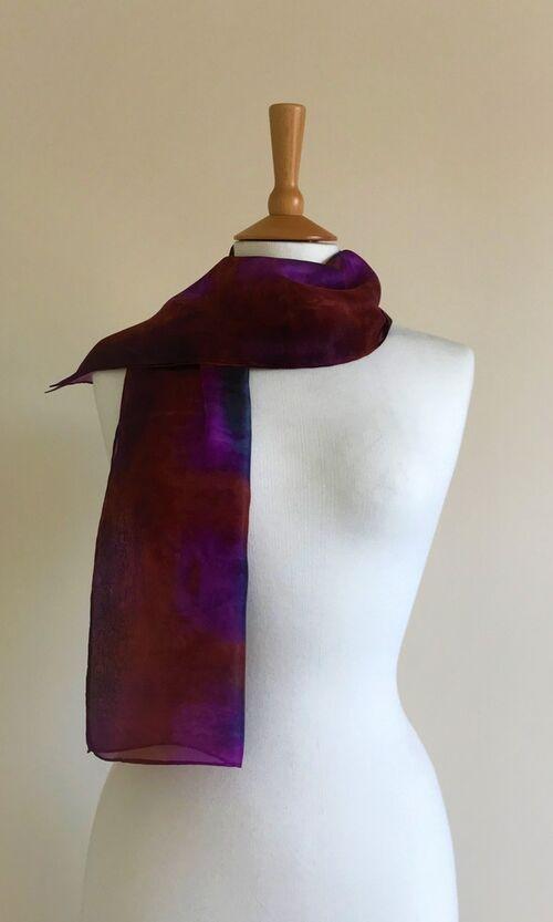 Lakeside - Purple, grey, cognac, brown