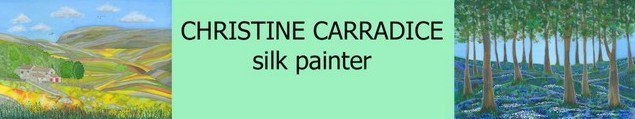 Christine Carradice Silk Painter