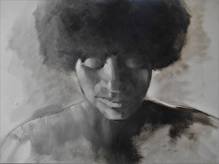 Afro Woman 2 66x53.5