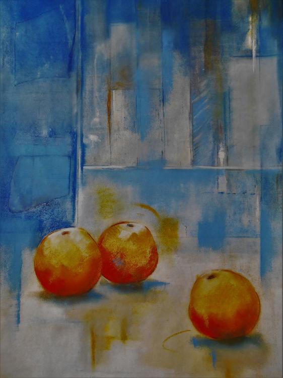 Orange Blues 65x92cm