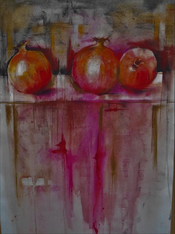 Pomegranates 60x80cm