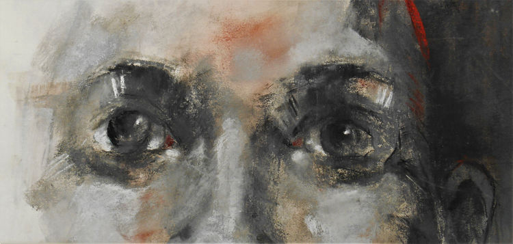 The Eyes Have It 84x45.5cm